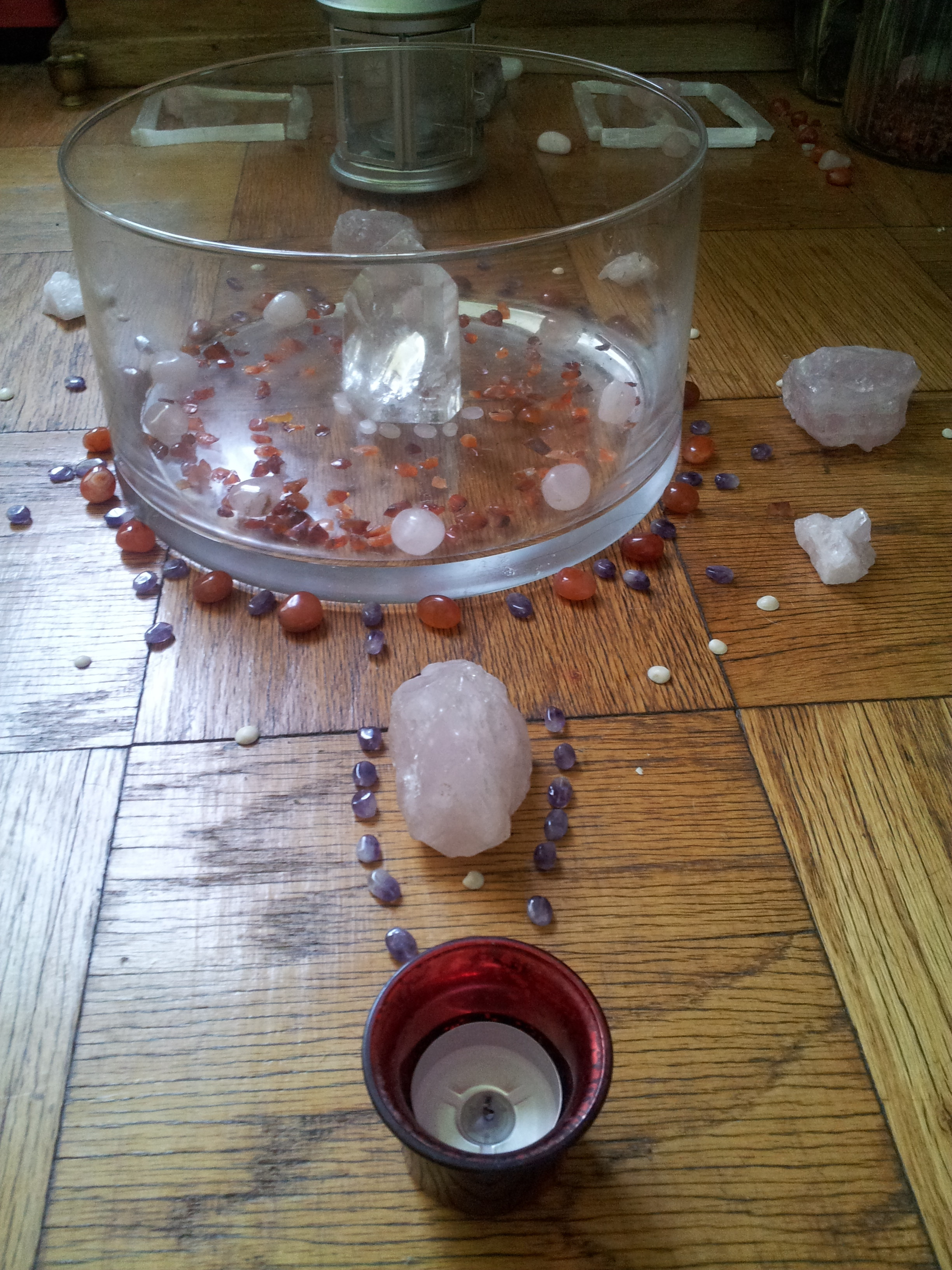Home Womb Healing Art: Gift for You–heal your first home